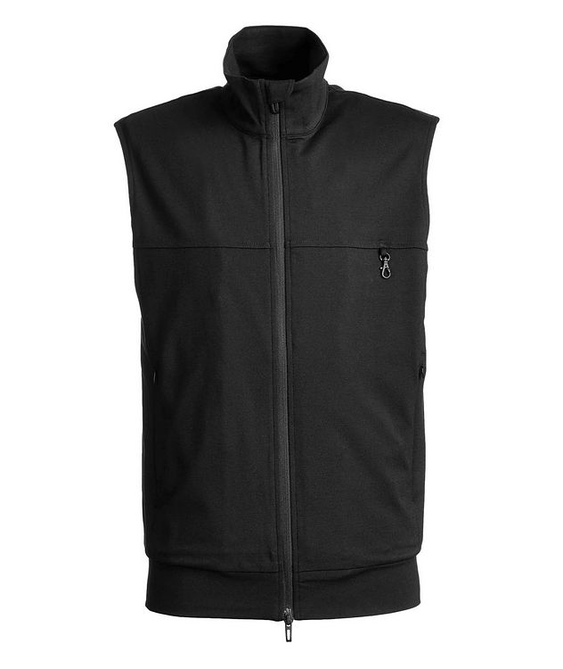 Lightweight Cotton Jersey Vest picture 1