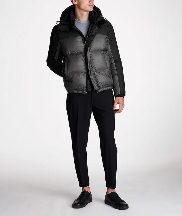 Water-Repellent Puffer Jacket picture 7