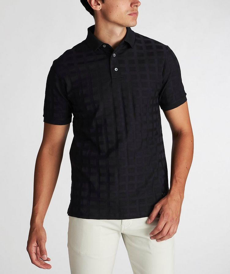Printed Cotton Polo image 1