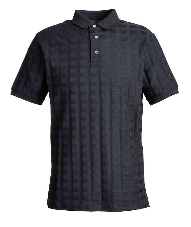 Printed Cotton Polo picture 1