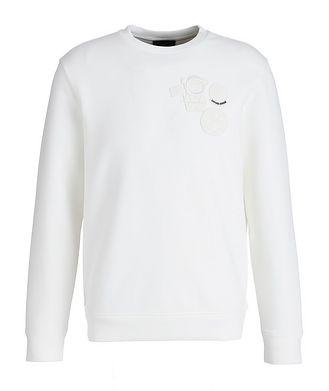 Emporio Armani Manga Bear Stretch-Cotton Sweatshirt