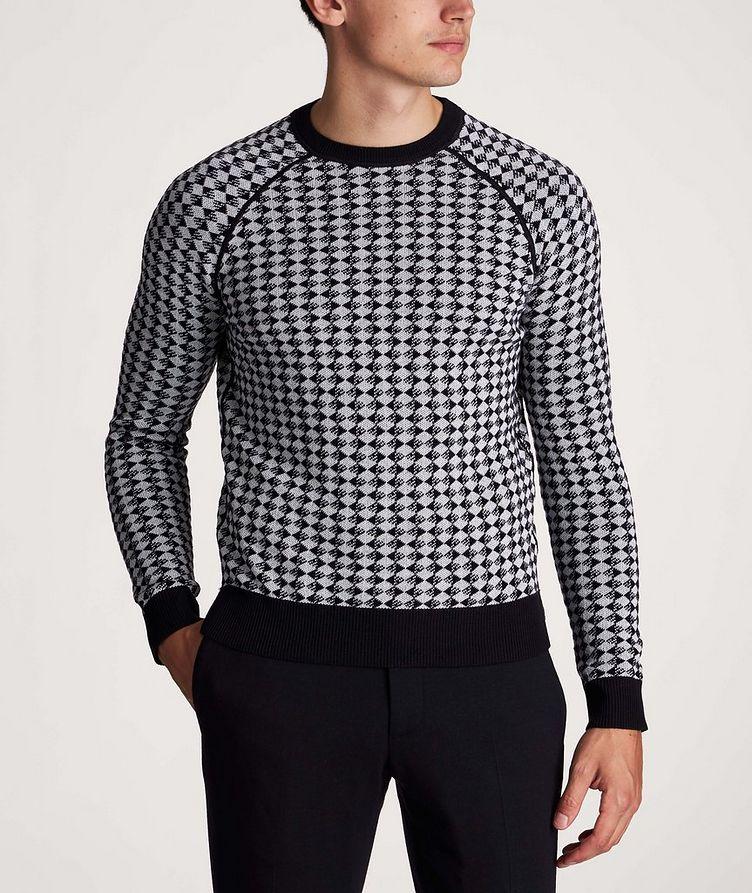 Diamond Wool-Cotton Sweater image 1