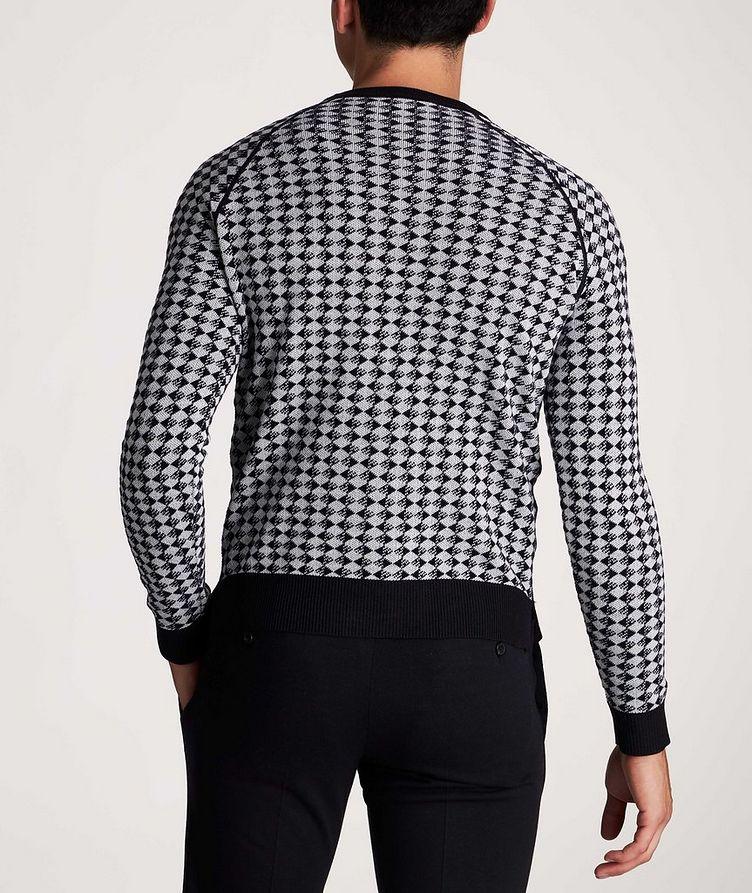 Diamond Wool-Cotton Sweater image 2