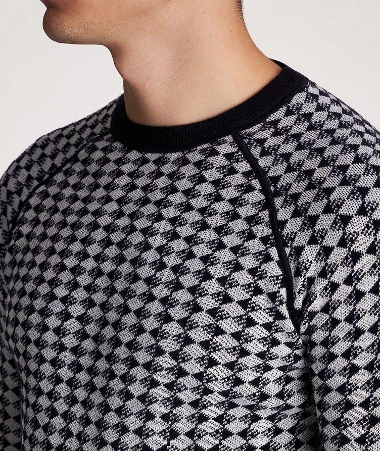 Diamond Wool-Cotton Sweater image 3