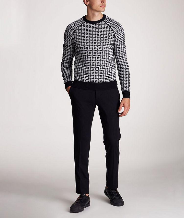 Diamond Wool-Cotton Sweater image 4