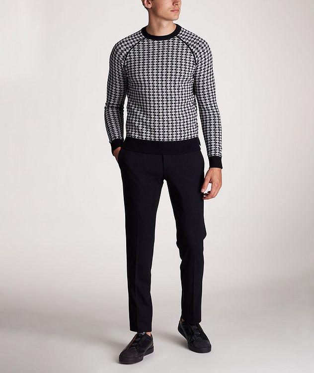 Diamond Wool-Cotton Sweater picture 5