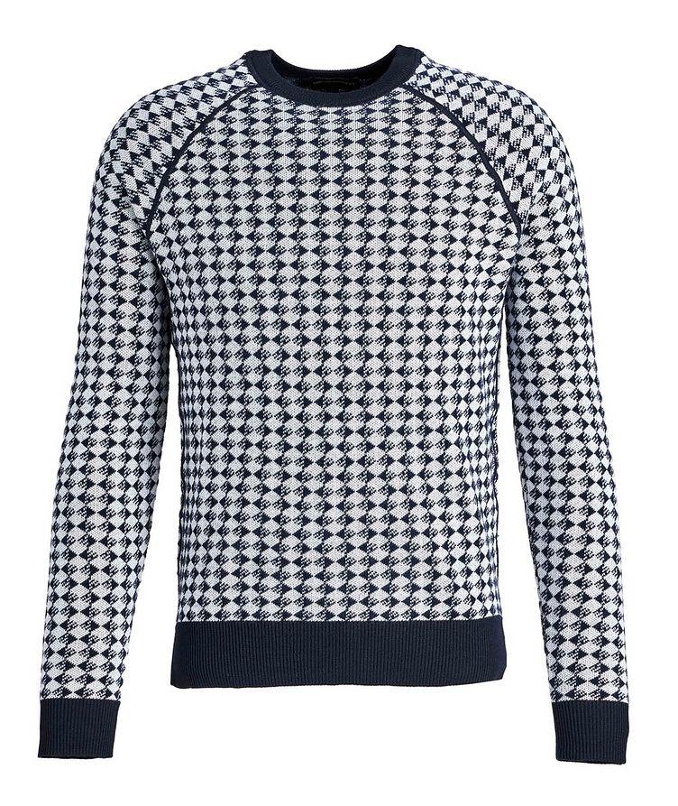 Diamond Wool-Cotton Sweater image 0