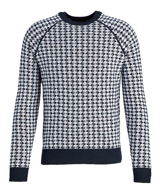 Diamond Wool-Cotton Sweater picture 1