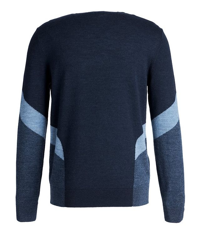 Colourblocked Wool Sweater picture 2