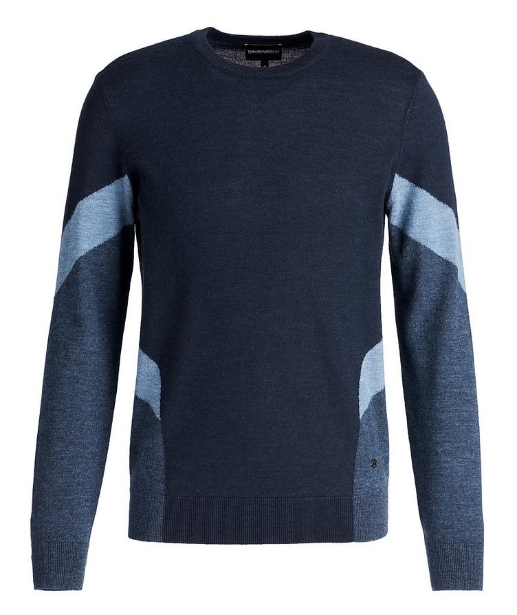 Colourblocked Wool Sweater image 0