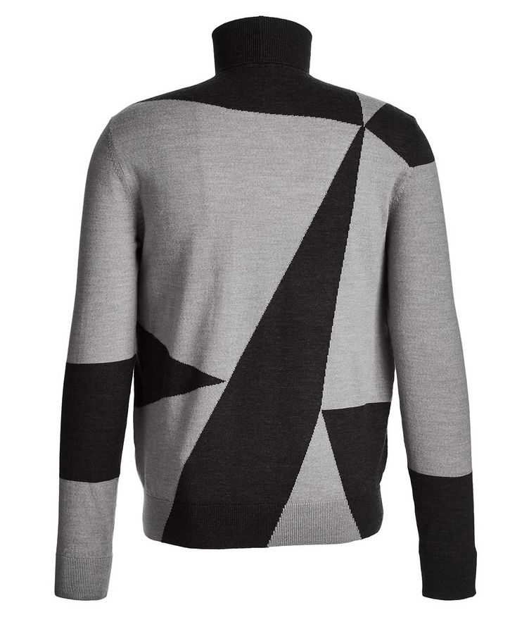 Printed Wool Turtleneck  image 1