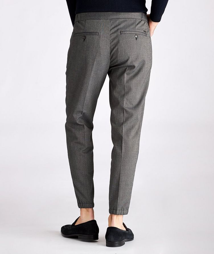 Viscose-Blend Drawstring Trousers image 1