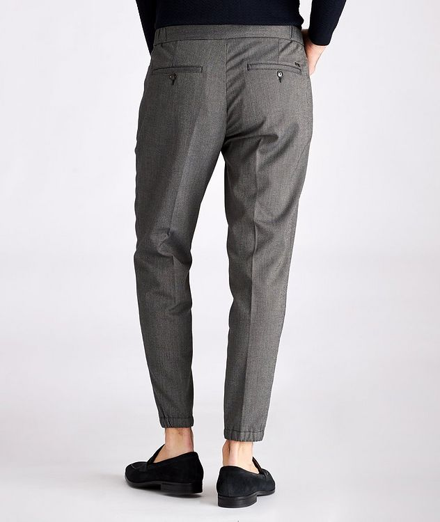 Viscose-Blend Drawstring Trousers picture 2
