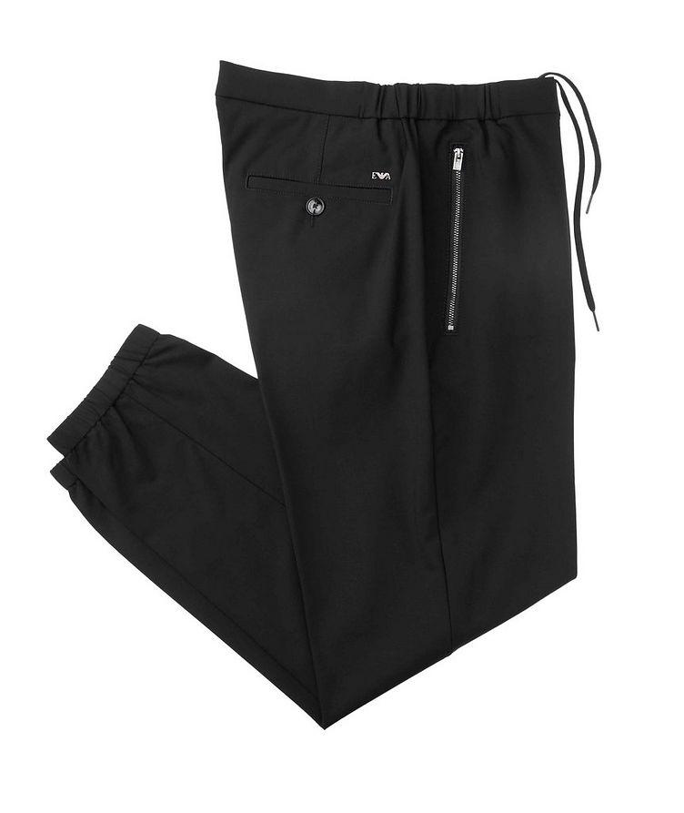 Pantalon en laine extensible image 0