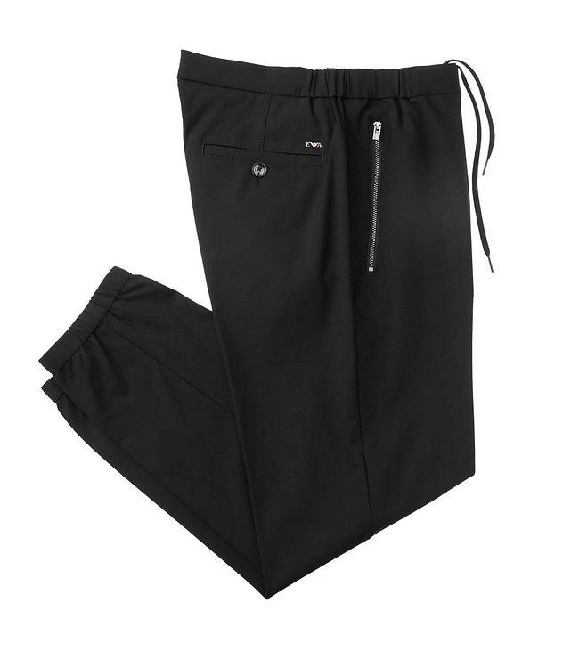 Pantalon en laine extensible picture 1