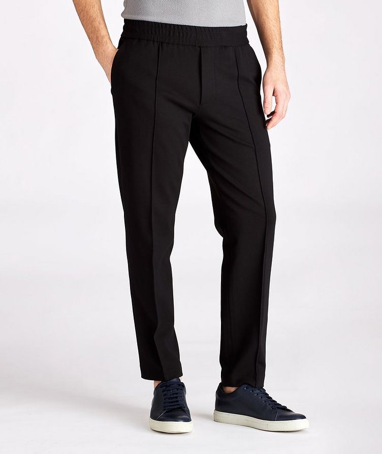 Drawstring Stretch Trousers image 0