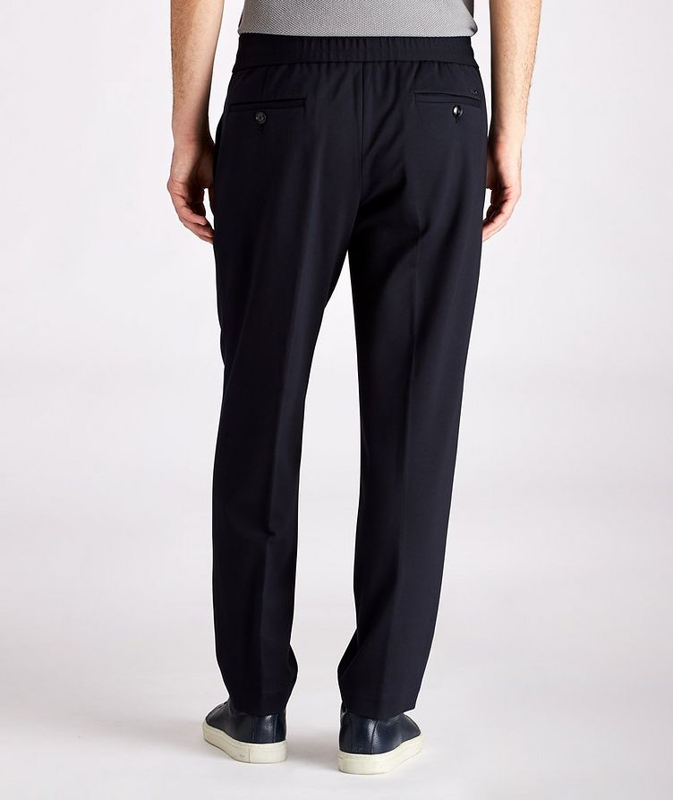 Drawstring Stretch Trousers image 1