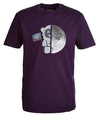 Emporio Armani Astronaut Bear Logo T-Shirt