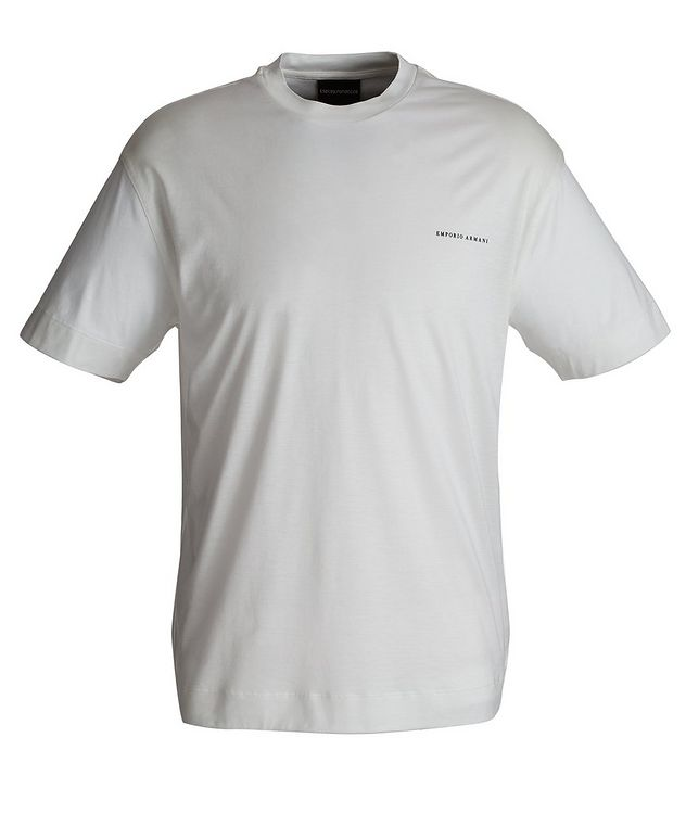 Lyocell-Cotton T-Shirt picture 1