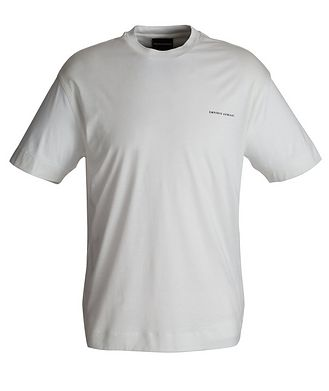 Emporio Armani T-shirt en mélange de coton