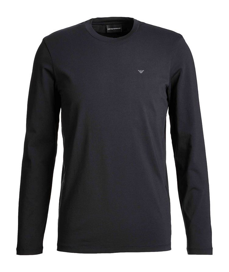 Travel Essentials Long-Sleeve Cotton T-Shirt image 0