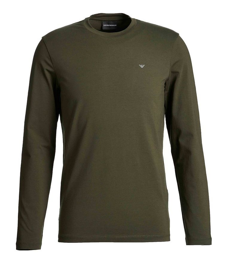 Travel Essentials Long-Sleeve Cotton T-Shirt image 0