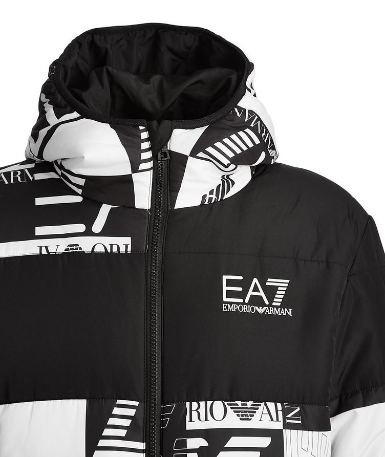 Quilted Logo Puffer Jacket image 1
