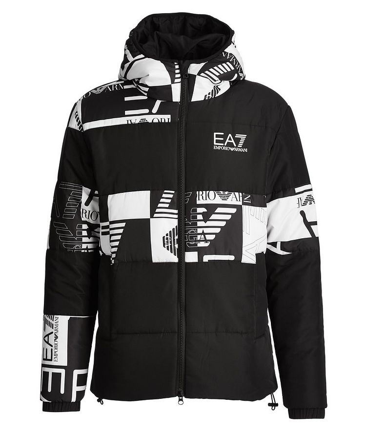 Quilted Logo Puffer Jacket image 0