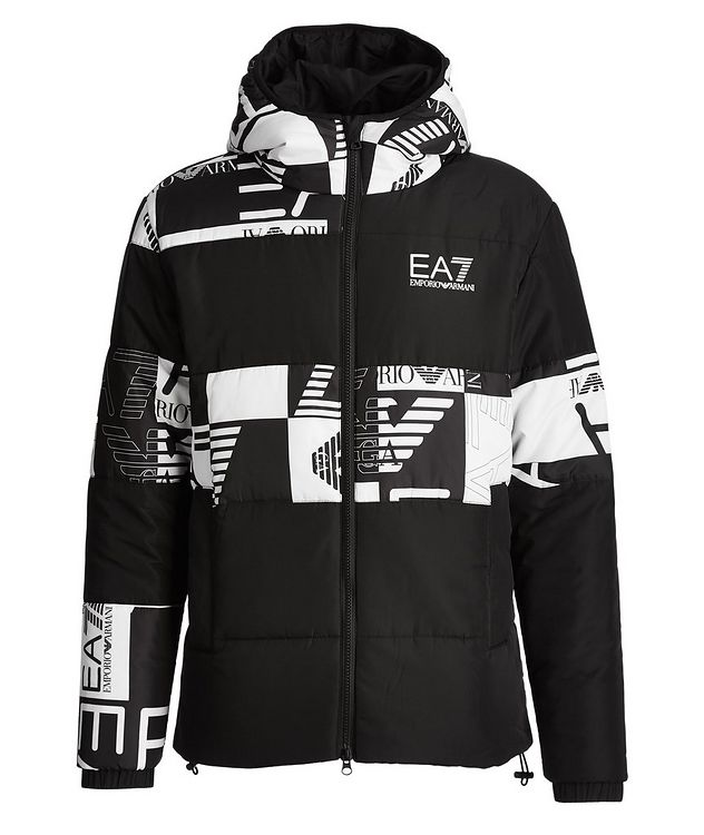 Quilted Logo Puffer Jacket picture 1