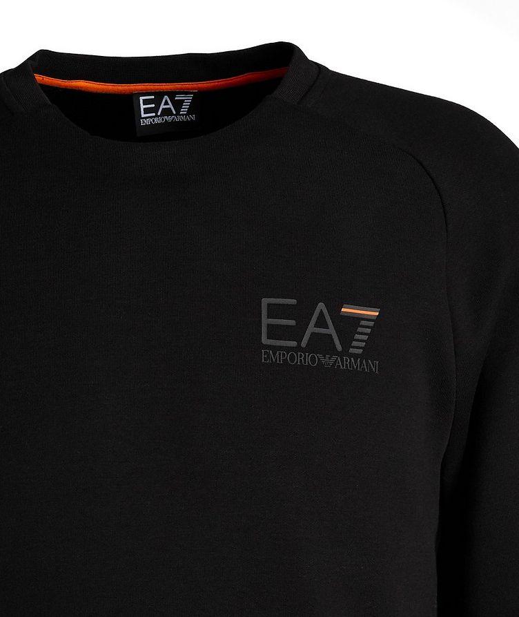 EA7 Long-Sleeve Cotton-Blend T-Shirt image 2