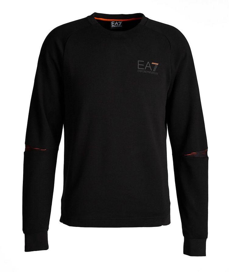 EA7 Long-Sleeve Cotton-Blend T-Shirt image 0