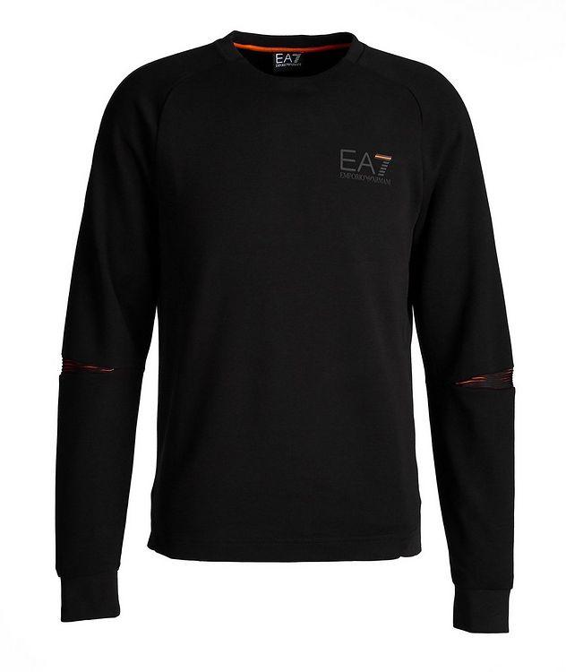 EA7 Long-Sleeve Cotton-Blend T-Shirt picture 1
