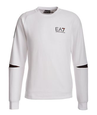Emporio Armani EA7 Cotton-Blend Sweatshirt