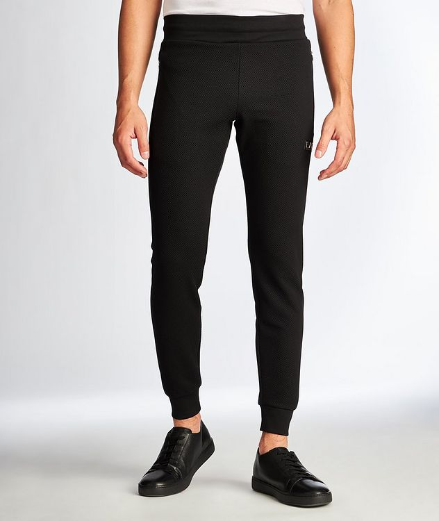 EA7 Textured Joggers picture 1