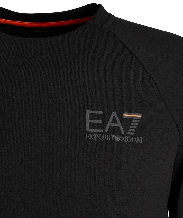 EA7 Long-Sleeve Cotton-Blend T-Shirt image 1