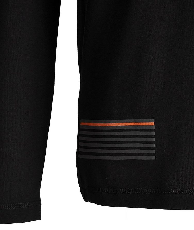 EA7 Long-Sleeve Cotton-Blend T-Shirt image 2