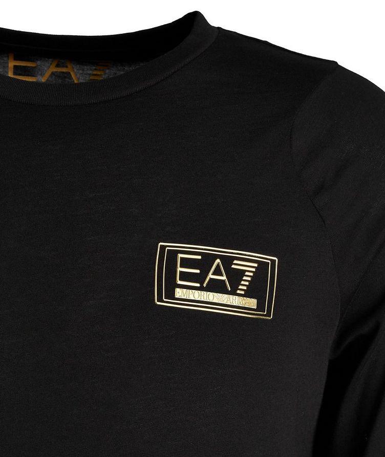 EA7 Long-Sleeve Cotton T-Shirt image 1