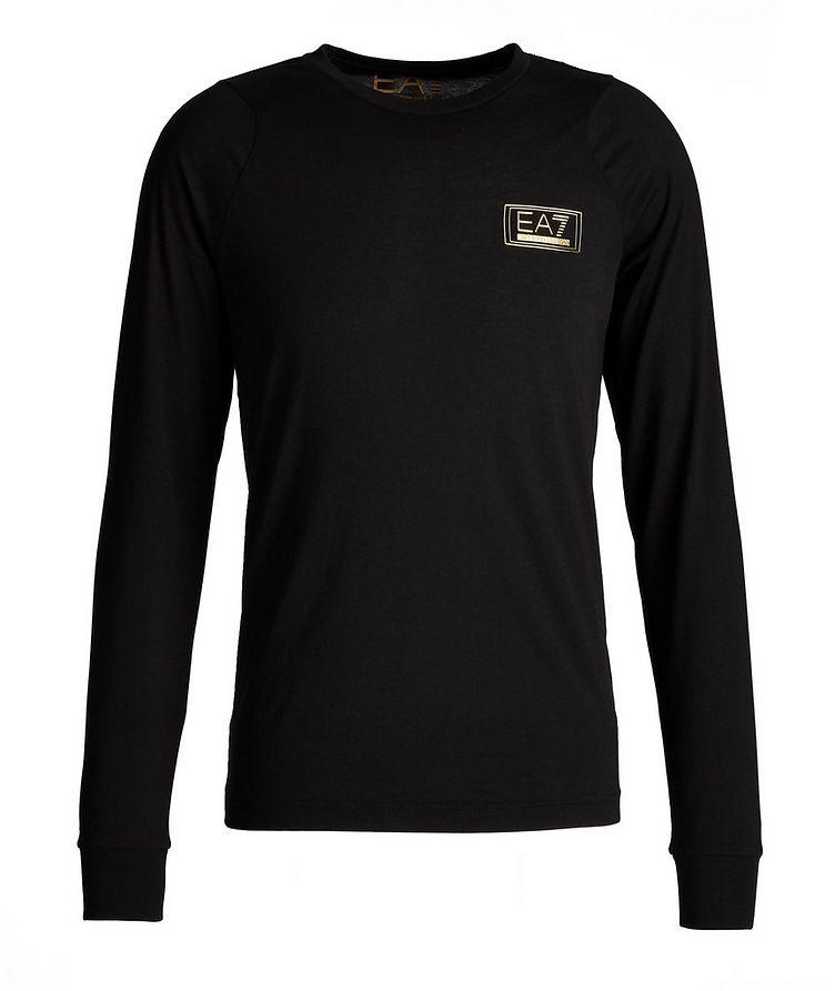 EA7 Long-Sleeve Cotton T-Shirt image 0
