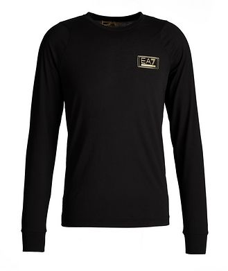 Emporio Armani EA7 Long-Sleeve Cotton T-Shirt