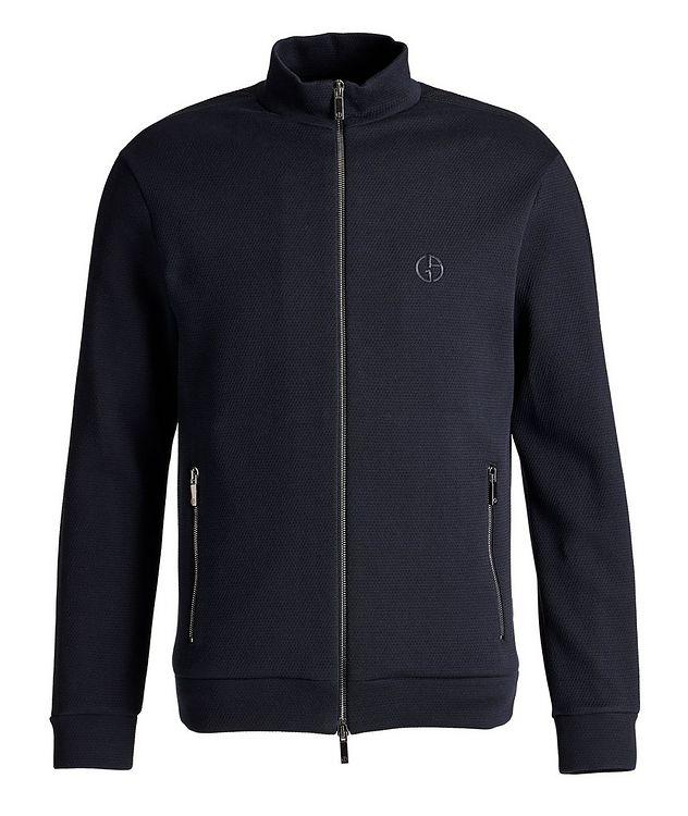 Zip-Up Cotton-Blend Jacket picture 1