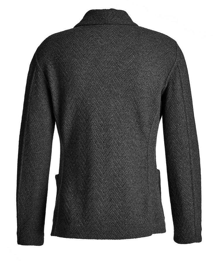 Wool-Cashmere Sweater Jacket image 1