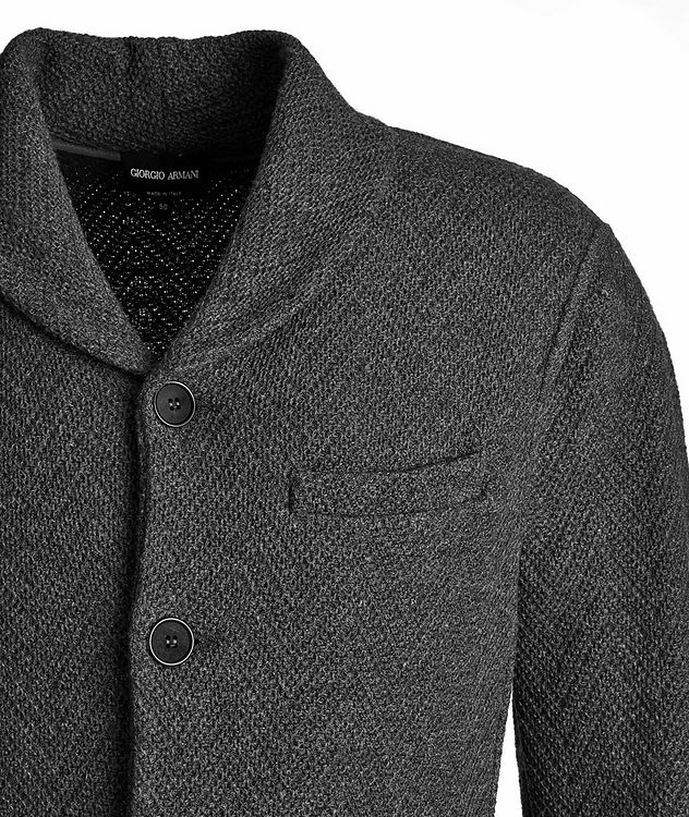 Wool-Cashmere Sweater Jacket picture 3