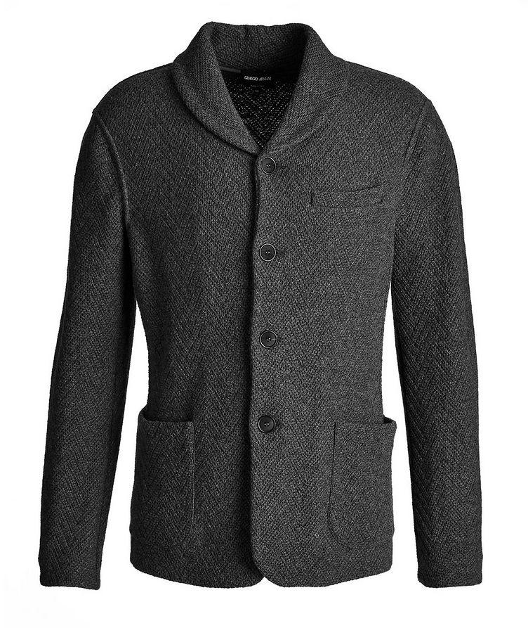 Wool-Cashmere Sweater Jacket image 0