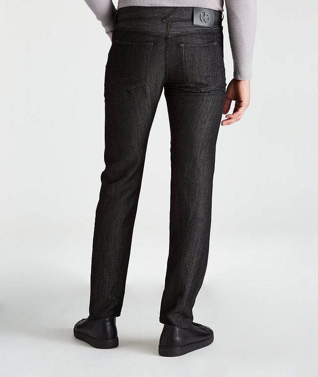 Tapered Wool-Linen Jeans picture 2