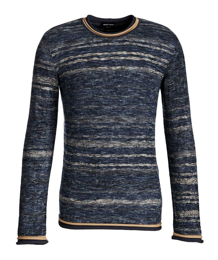 Textured Wool-Blend Sweater image 0