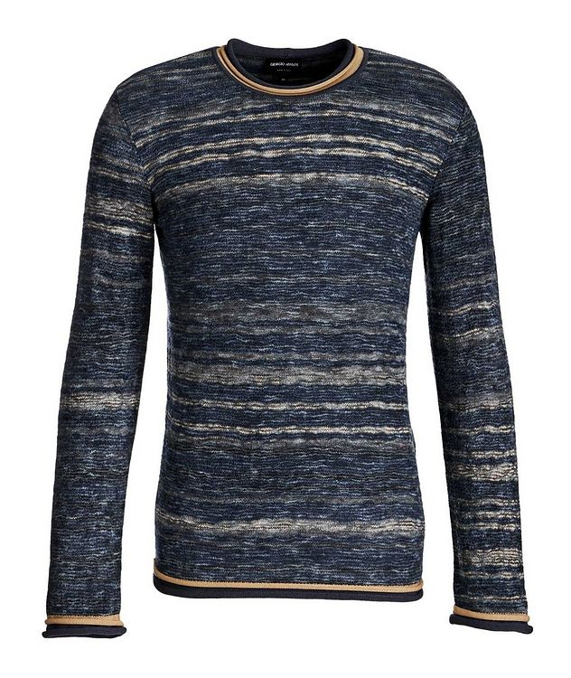 Textured Wool-Blend Sweater picture 1