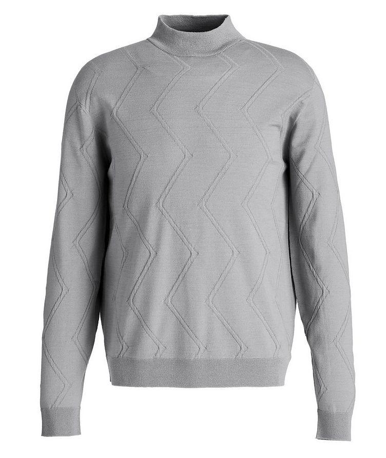 Wool-Blend Mock Neck Sweater image 0