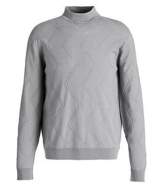 Giorgio Armani Wool-Blend Mock Neck Sweater