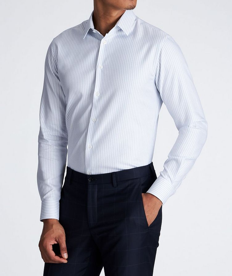 Contemporary Fit Striped Dress Shirt image 2