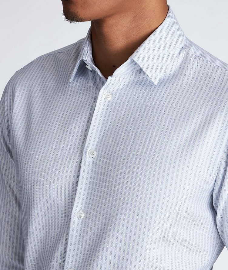 Contemporary Fit Striped Dress Shirt image 3